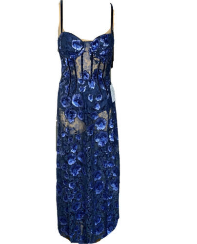 NWT For Love And Lemons Victoria Maxi Lg Absolute Be Best Dressed At NYEParties!
