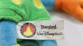 """Disney Parks 10"""" Blue Yellow Mickey Mouse Stuffed Plush Toy With Original Tags image 11"""