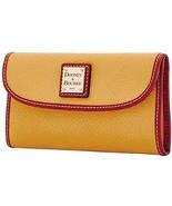 Dooney & Bourke Pebble Grain Continental Clutch Wallet, Dandelion - $142.00