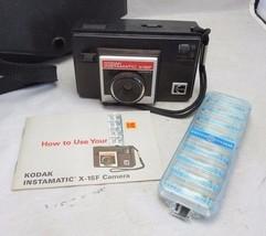 Vintage Kodak Instamatic camera X-15F w/ manual & flash - $9.99
