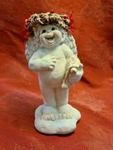 1994 Joy to the World Dreamsicles Angel Cherub Figurine Signed Kristin Mexico image 1