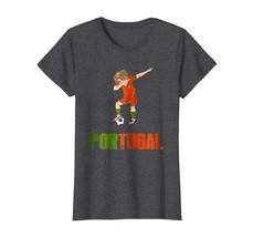 Sport Shirts - Dabbing Soccer Boy Portugal Shirt for Portuguese Football Wowen - $19.95+
