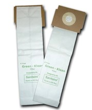Green Klean Vacuum Bags Style SD for Sanitaire / Eureka Duralux GK-EurSD - $12.50