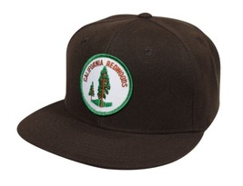 California Redwoods Hat by LET'S BE IRIE - Brown Snapback - £14.66 GBP