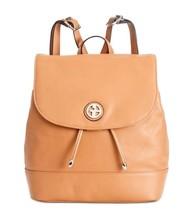 Giani Bernini Nappa Flap Backpack Nut - $100.00