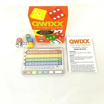 Gamewright Qwixx Fast Family Dice Game Night New 2-5 Players Mensa Winner - $10.43