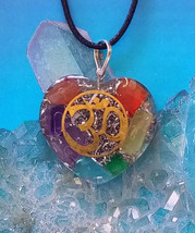 STUNNIONG ORGONE  HEART CHAKRA CRYSTAL COPPER O... - $11.54