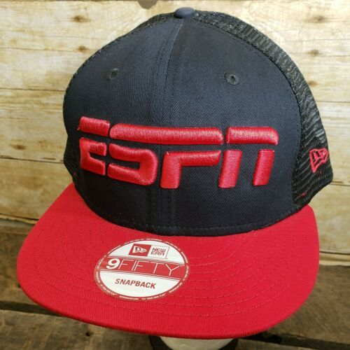 ESPN Snapback Trucker Hat Ball Cap - New Era 9Fifty - NEW