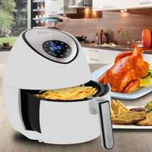 Electric LCD Air Fryer 4L w/ Touch Screen & Removable Basket, 1500W - €76,25 EUR