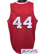 Frank Kaminsky signed Red w/ Shadow #'s Custom Stitched College Basketba... - $109.95