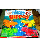 Hungry Hungry Hippos Vintage Game-Complete - $38.00