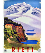 """11x14""""Poster on Canvas.Home Room Interior design.Travel Italy.Rieti.6561 - $28.05"""