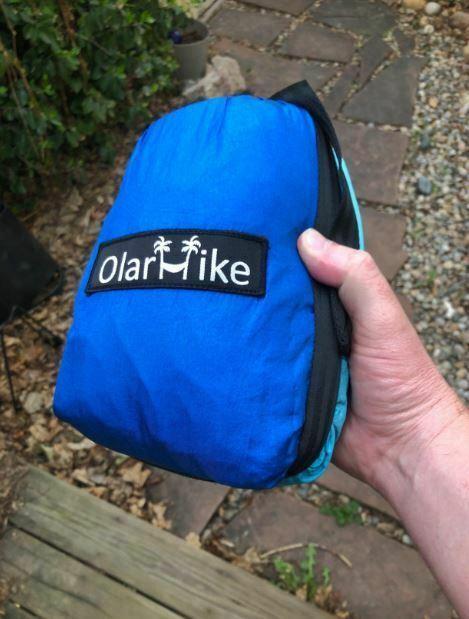 OlarHike Single Double Portable Camping Hammock w/ Tree Straps 500lbs Capacity