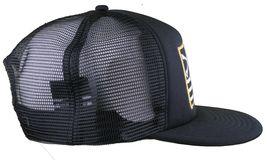 Dissizit! Black Mesh American Cross Bones Flag Trucker Baseball Hat image 3
