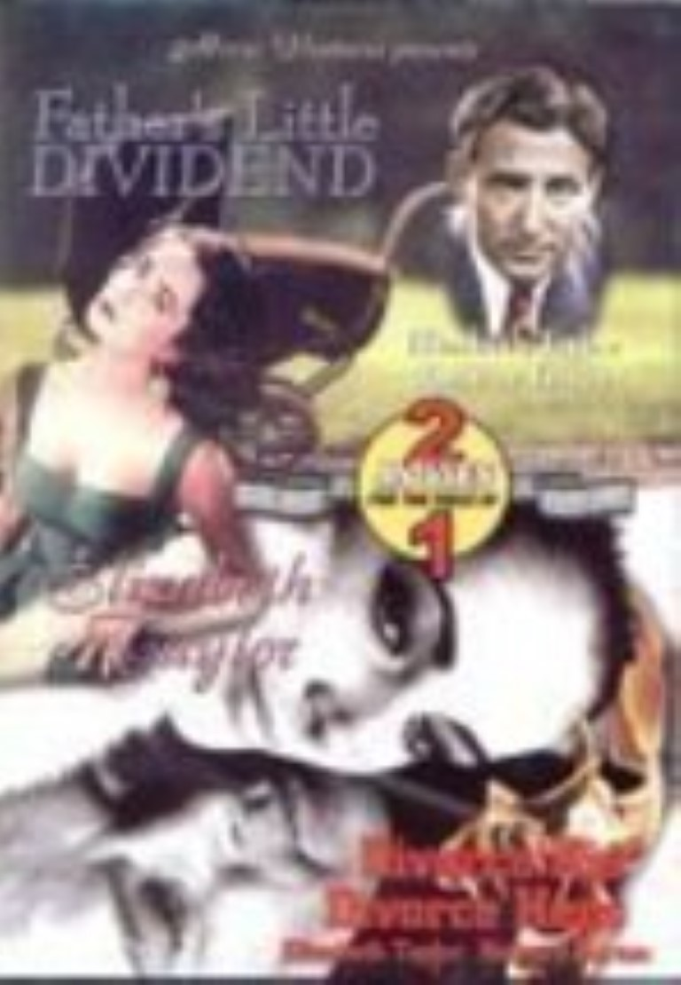 Father's Little Dividend (B&W) / Divorce His, Divorce Hers (Color) Dvd
