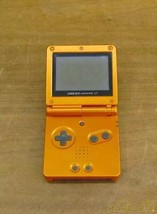 Nintendo Game Boy Advance Sp Achamo Orange Xjh11857829 Ags 001 R  Etro G... - $209.98