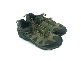 Merrell Men's Hiking Shoes Black Gray Green Select Dry Select Grip Size 9.5 - $32.68