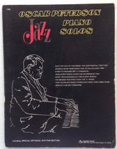 Oscar Peterson Jazz Piano Solos Song Book Hanson House - $14.75