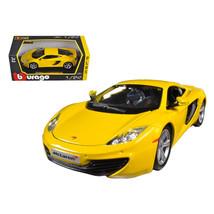 Mclaren MP4-12C Yellow 1/24 Diecast Car Model by Bburago - $47.64