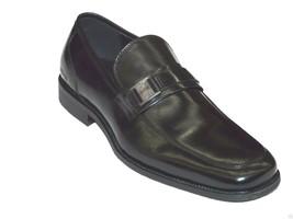 Kenneth Cole Mens shoes Mock toe Lace up Bottoms Up Black SMF5BU001 Comf... - $99.95