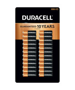 Alkaline AA Batteries 48 Pack Duracell Coppertop long Lasting Power Remo... - $39.55
