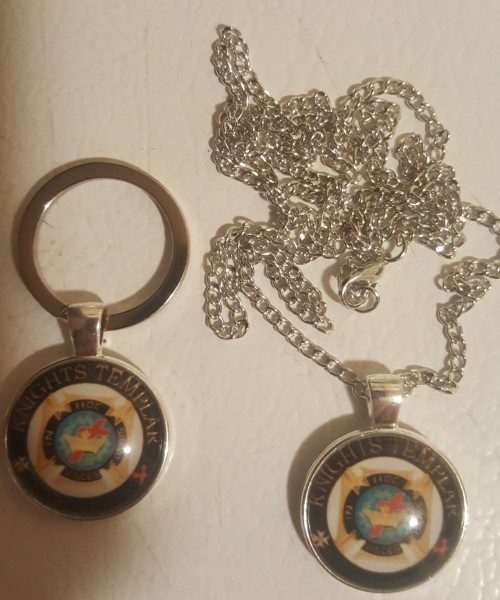 Christian Order Necklace & Key Ring Combo