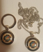 Christian Order Necklace & Key Ring Combo - $25.99