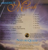 Handel's Messiah: Instrumental with Nature Cd image 2