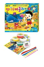 Amos iClay Play Pack Volume 2 Dough Modeling Compound Elastic Clay Toy Playset