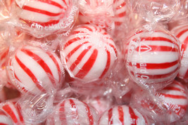 Peppermint Jumbo Mint Balls Hard Candy, 2LBS - $16.19