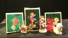 Hallmark Handcrafted Ornaments AA-191777 Collectible (3 Pieces ) - $49.95