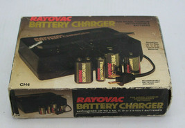 Rayovac CH4 Ni-CD Rechargeable Battery Charger New Old Stock  - $24.74