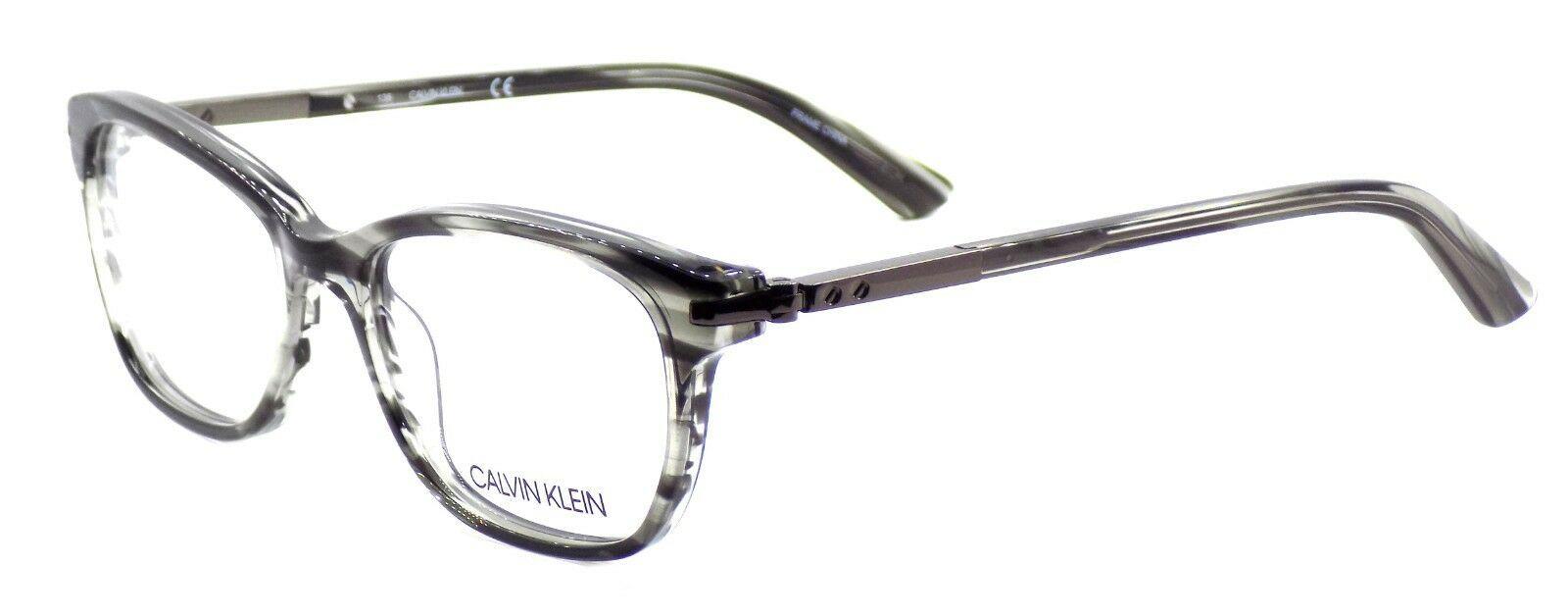 Calvin Klein CK7984 003 Women's Eyeglasses Frames Grey Horn 51-16-135 + CASE