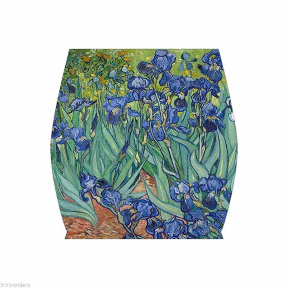 VINCENT VAN GOGH IRISES Bodycon Skirt XS S M L XL XXL XXXL