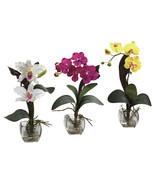 Mixed Orchid w/Cube Arrangements (Set of 3) - $80.48