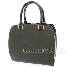 LOUIS VUITTON Pont Neuf Epi Leather Noir M52052 Handbag Tote Bag Authentic - $636.78