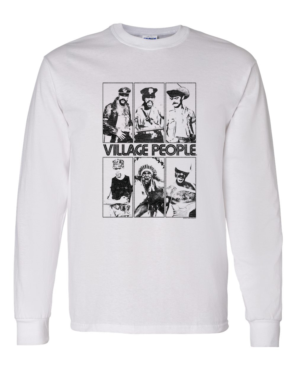 Village people t shirt retro vintage 1970 s disco ymca macho man graphic tee for sale online