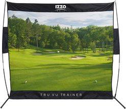 Izzo Golf Tru Vu Trainer Hitting Net - 7.5' x 7.5' Hitting Area - $199.99