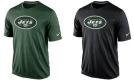 New York Jets Mens Nike Essential Logo DRI-FIT T-Shirt - Size Large - NWT - $23.74