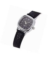 Women Small Wrist Watch Leather Strap Unique Simple Square Watch Analog ... - $24.24