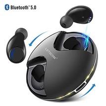 Letscom True Wireless Earbuds, Bluetooth 5.0 Headphones, IPX5 Waterproof... - $46.56