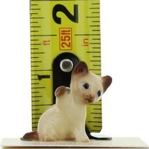 Hagen Renaker Miniature Cat Siamese Kitten Paw Up Ceramic Figurine image 2