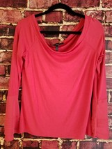NWT White House Black Market At-the-Shoulder Fitted Bell-Sleeve Top SIZE L - $29.09