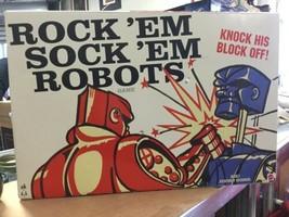 Rock'em Sock'em Robots 2014 Mattel Game Complete with Box - $39.19