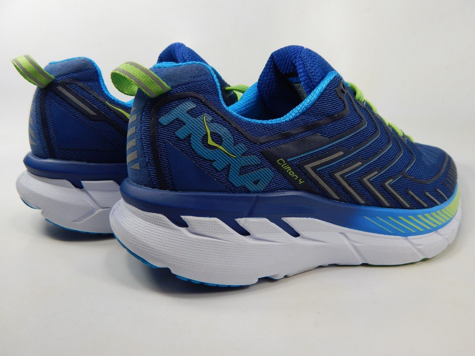 Hoka One One Clifton 4 Size 9 M (D) EU 42 2/3 Men's Running Shoes Blue 1016723