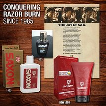 Saxon Post Shave Cream with Micro Moisturizing and Conditioning Beads, Woodspice image 3