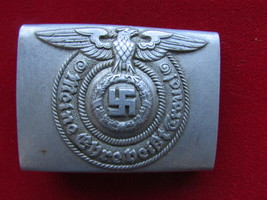Rare WWII German SS Enlisted Belt Buckle,RZM 822/38 - $480.00