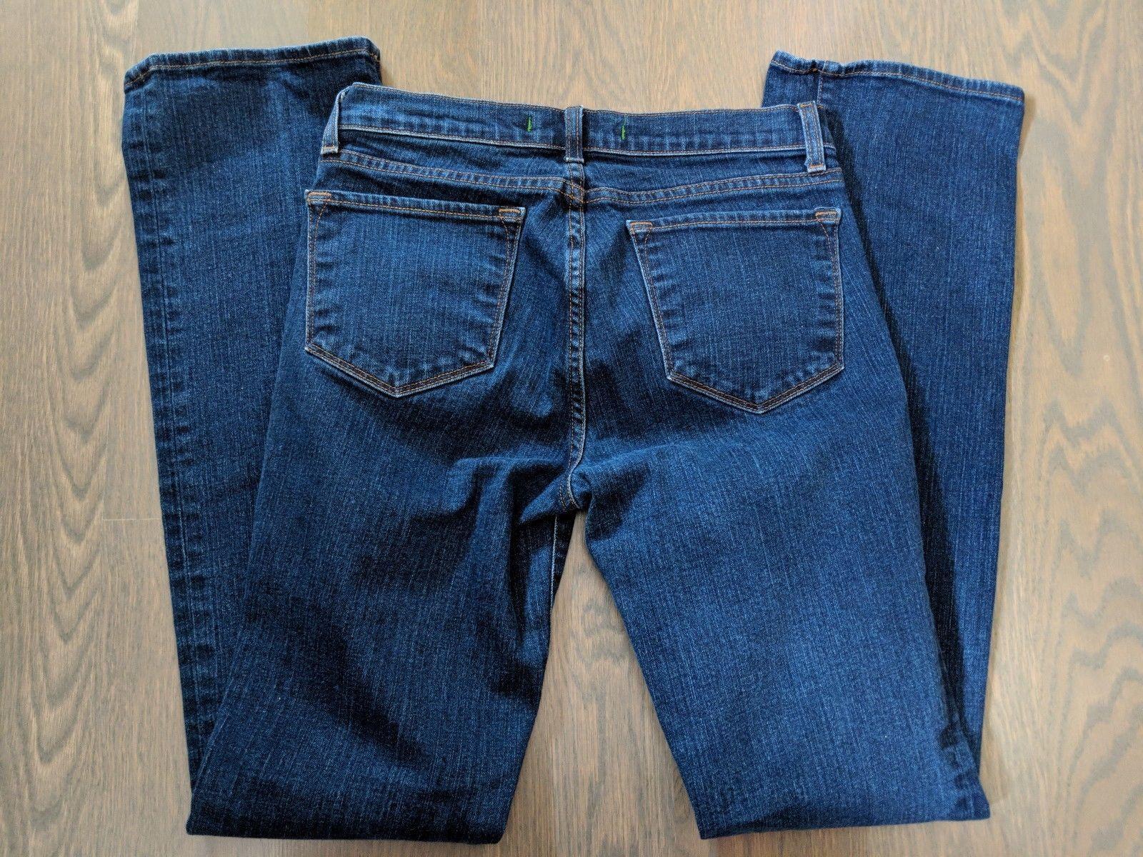J Brand 28 Aruba Denim Skinny Slim Stretch Medium Wash Jeans Womens Pants image 9