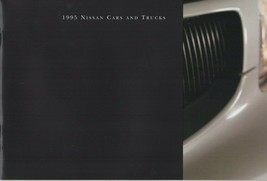 Original 1995 Nissan 300ZX 240SX 200SX Maxima Altima Sentra  Pathfinder Brochure - $11.39