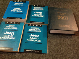 2001 JEEP GRAND CHEROKEE Service Repair Shop Manual SET W Labor Guide Di... - $217.79